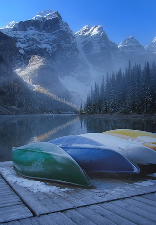 Moraine Lake, Banff National Park, Alberta 2010