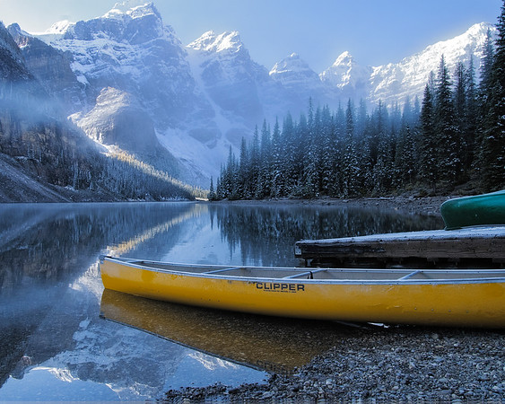 Moraine Lake, Banff National Park, Alberta 2010