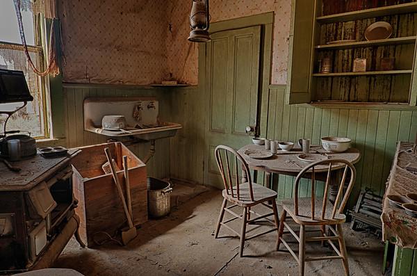 Kitchen at Bodie.