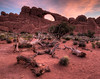 Arches National Park, Utah. Skyline Arch.