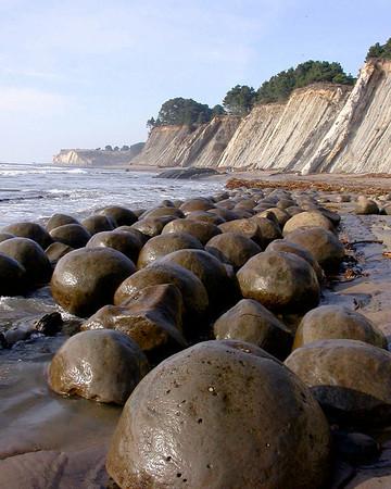 Bowling Ball Beach, between Gualala and Pt. Arena, northern California.