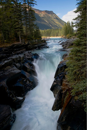 Numa Creek Falls, British Columbia.