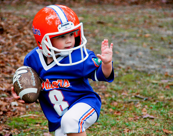 Carson does the Heisman.