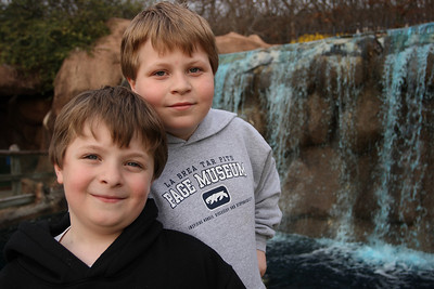 My boys. Can you guess where this picture was taken?