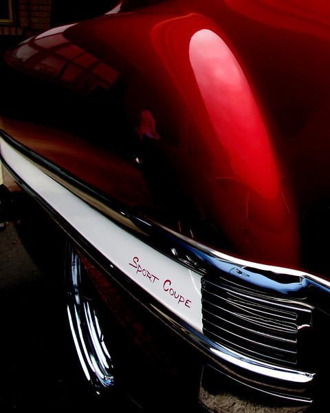 Cherry Red Fender, <br /> One of the images from the Mt Angel Oktoberfest Car Show this past weekend.