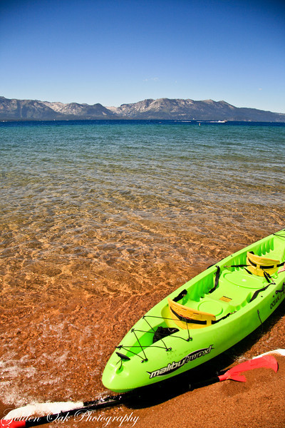 Amazing clarity of Lake Tahoe and the Truckee River that flows into & out of, keeping the lake at almost a static level. Just beautiful on a warm September's day. Soon the mountains will be covered in snow and only our memories of summer to remember.
