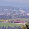focus ∞ / little bit cloudy - view on Büchlberg (12 km linear distance)