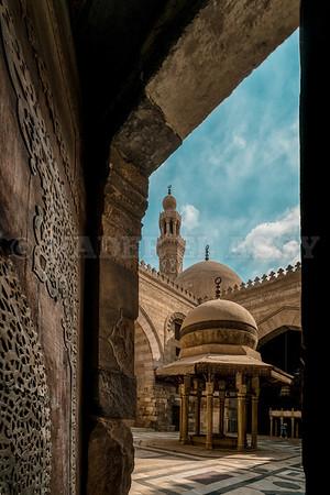 Entrance to Qalawun Complex