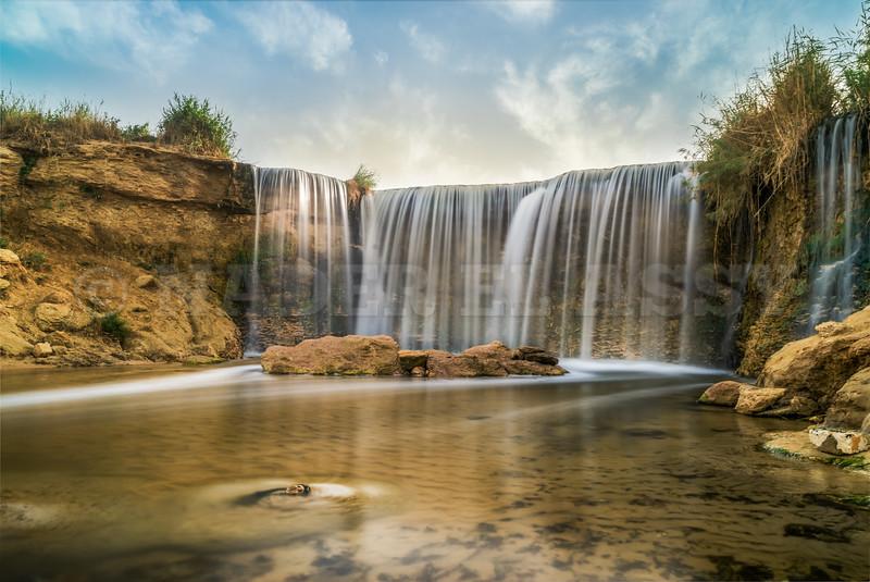 Waterfall Magic at Sunrise