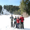Cross country skiing at Mammoth
