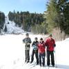 Cross country skiing at Mammoth