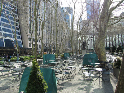 Bryant Park, New York, NY - US