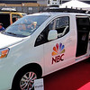 NBC News truck on display at NAB 2014.