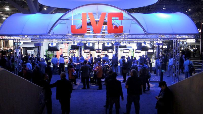 Taking a look at JVC exhibit at NAB 2014.