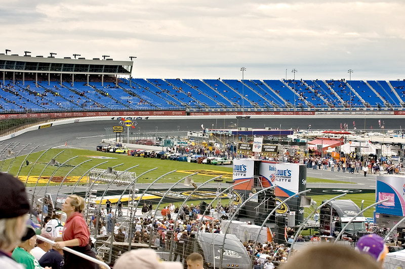 Wide angle view of Turn 4