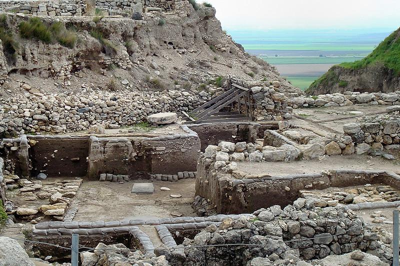 Megiddo excavations