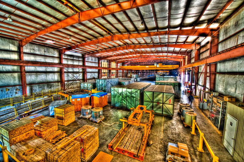 IN THE WAREHOUSE