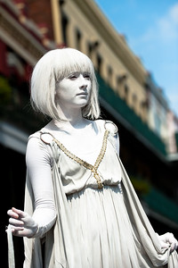 NEW ORLEANS LIVE STATUE