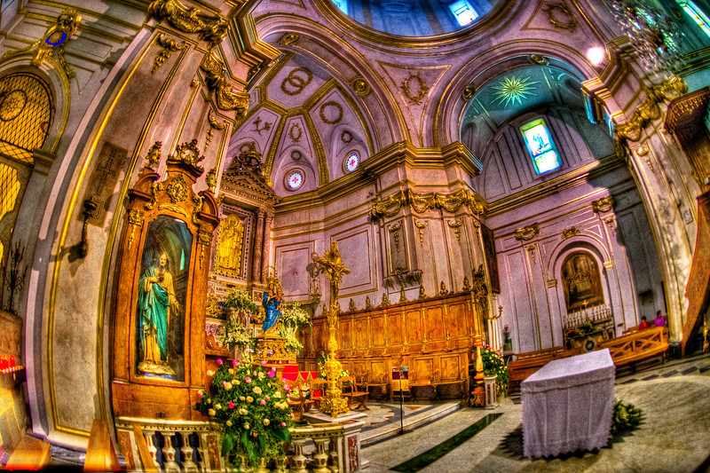 COLORFUL RELIGION--DUOMO POSITANO
