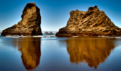 BANDON BEACH ROCK REFLECTIONS