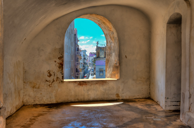 ROOM WITH A VIEW OF OLD SAN JUAN