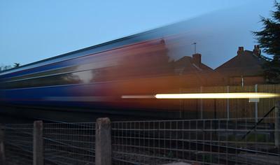 The fast train!