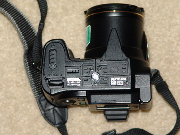 Bottom of Camera- Tripod Mount