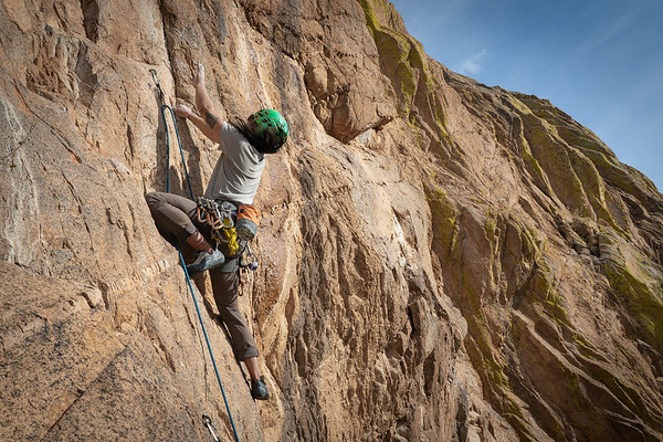 Climbing at Cochise Stronghold With NOLS