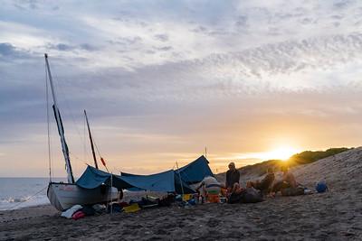 Sailing in Baja