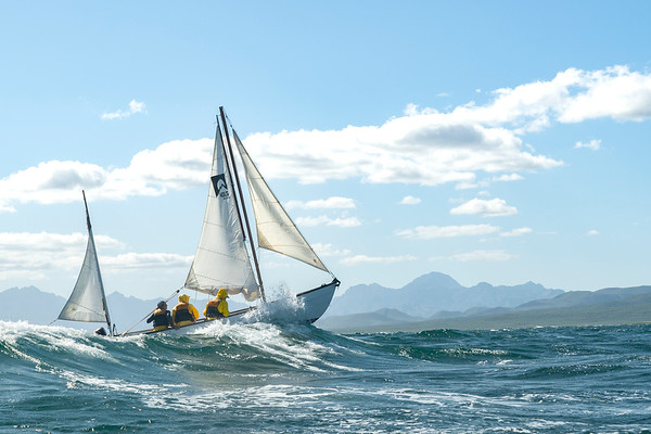 NOLS Sailing on Rough Seas