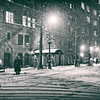 New York City - Snow on a Winter Night - Midtown East