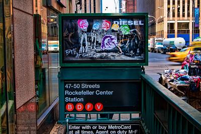 New York City Subway March 2009