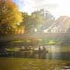 New York Autumn - Central Park - Bow Bridge - Fall Sunlight