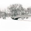 Serenity Memory - Bow Bridge in the Snow - Central Park