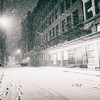 New York City - Snowstorm - Empty Snowy City Streets