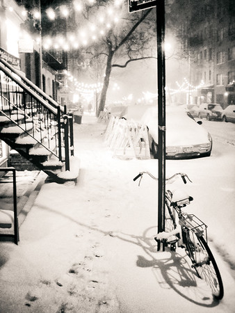 New York City - Snow - East Village