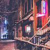 New York City Snowy Night