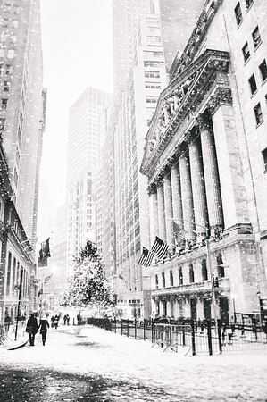 New York City - Christmas in the Snow