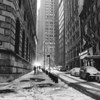 New York City - Winter - Financial District in the Snow