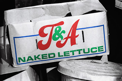 """""""T&A: Naked Lettuce""""    The PC word is """"organic."""""""