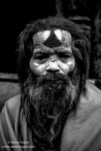 Sadhu Black and White
