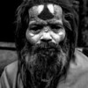 Sadhu Black and White