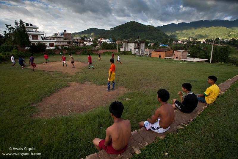 Football in Lalitpur, Kathmandu