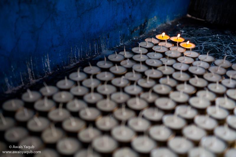 Hope in Budhist Temple, Kathmandu