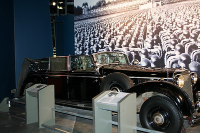 Hitlers Car, Canadian War Museum Ottawa Canada. Sister Car sold for $15 million to Russian investor. http://money.ca.msn.com/savings-debt/gallery/gallery.aspx?cp-documentid=23521401&page=3