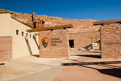 Visitor Center,  Arches National Park