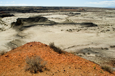 Black Buttes and Red Hills, Bisti Wilderness Badlands, New Mexico