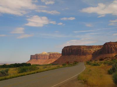 Along Utah Highway 211