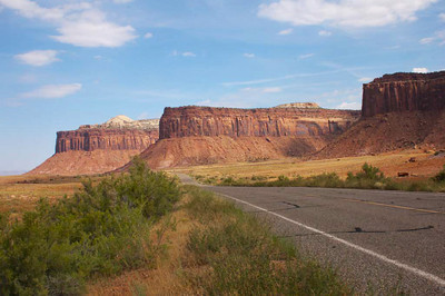 Along Highway 211, Needles area Canyonlands N.P.