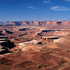 Nobody, North America, USA, Utah, Turks Head , Green River, in Canyonlands National Park, Utah, from Island in the Sky, showing the White Rim